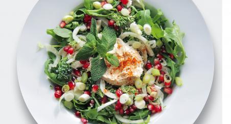 Salata - koromač, brokula, nar i humus - PROČITAJTE
