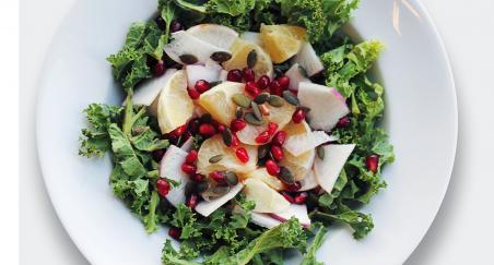 Salata - grejp, kelj, jabuka i nar - PROČITAJTE