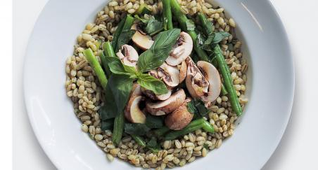 Salata - ječam, gljive i mahune - PROČITAJTE
