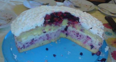 Torta sa šumskim voćem - PROČITAJTE