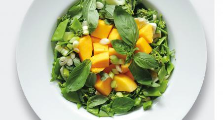 Salata mango, grašak šećerac, kinesko zelje i brokula - PROČITAJTE