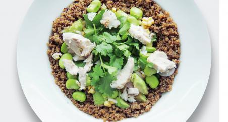 Salata pečena piletina, kvinoja, bob i kukuruz - PROČITAJTE