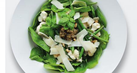 Salata cvjetača, mahune i špinat - PROČITAJTE