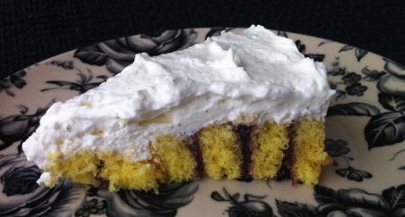 Prugasta torta od sira - slika