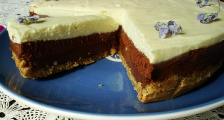 Torta s tri vrste čokolade