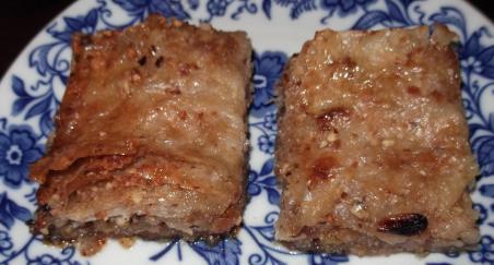Baklava od pečenih lješnjaka - PROČITAJTE
