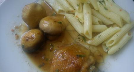 Makaroni u umaku od gljiva i piletine - PROČITAJTE