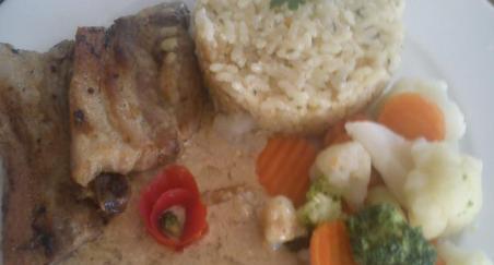Riža s povrćem - slika