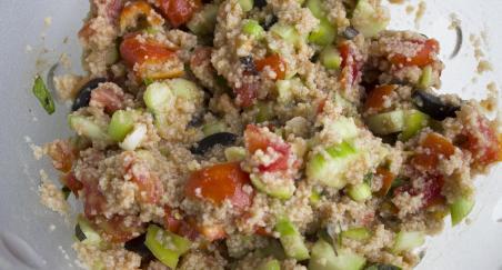 Salata od kus kusa sa povrćem - PROČITAJTE