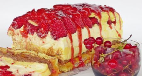 Krem kolač sa malinama - PROČITAJTE