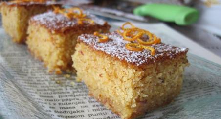 Marokanski kolač od badema i naranči - PROČITAJTE
