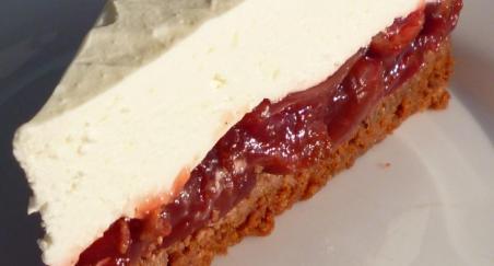 Creamy Cherry Cake