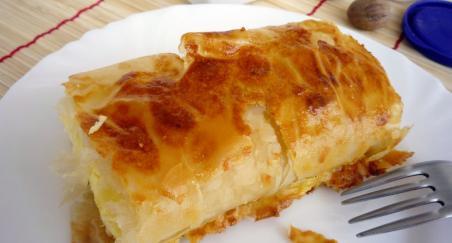 Savijača (štrudla) sa pire krumpirom