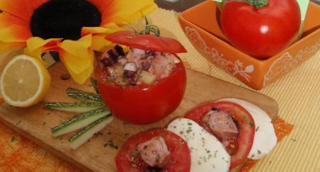 Salata od hobotnice i mozzarelle