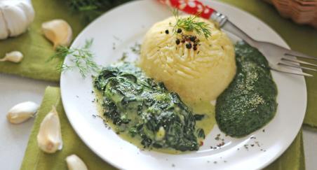 Pire krumpir s umakom od špinata - PROČITAJTE