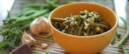Jednostavna salata s mahunama